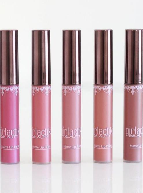Lipstik Girlactik matte lip paint
