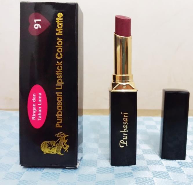 Lipstik Purbasari Opal No.91