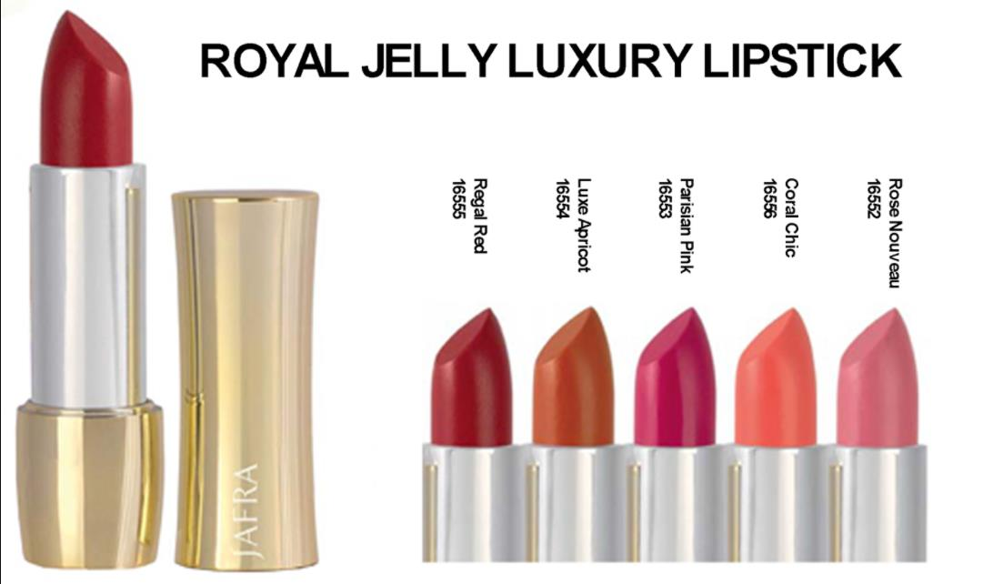 Lipstik jafra royal jelly