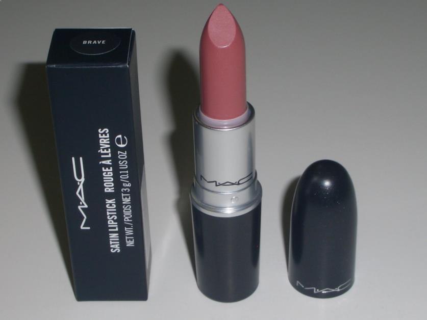 MAC Satin Lipstick (Brave)