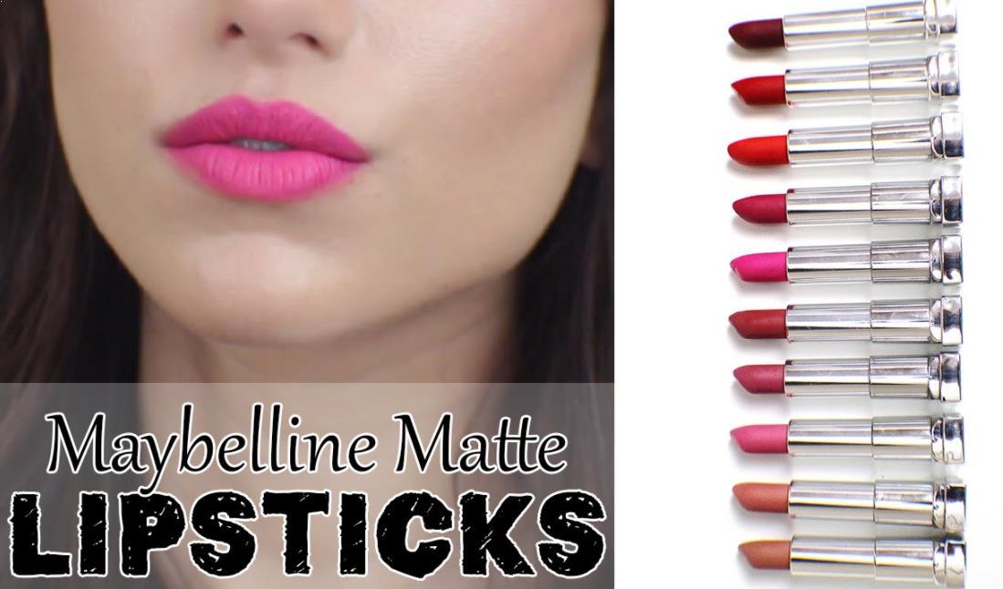 Maybelline Creamy Matte Lipstik