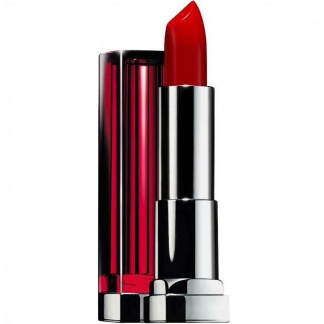 Maybelline lipstick color sensational lip color-645 red revival