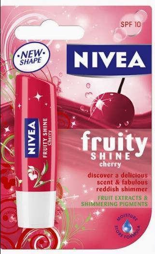 Nivea fruity shine lip balm cherry