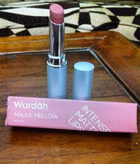 Wardah Intense Matte #04 (Mellow Mauve)