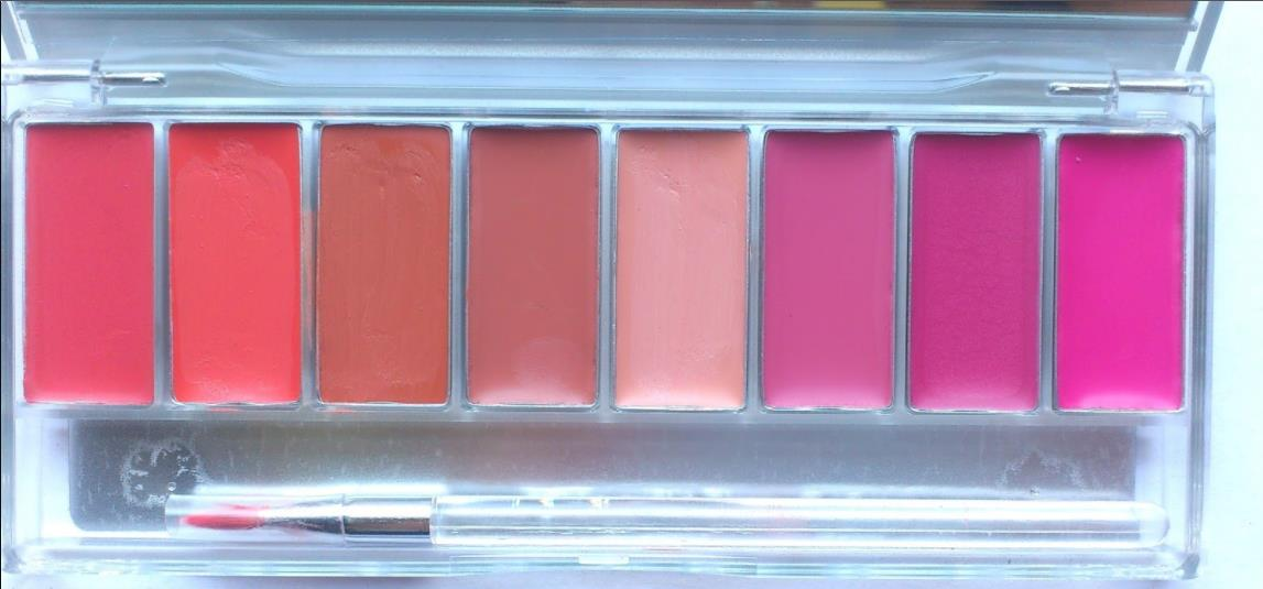 Wardah Lip Pallete Pinky Peach