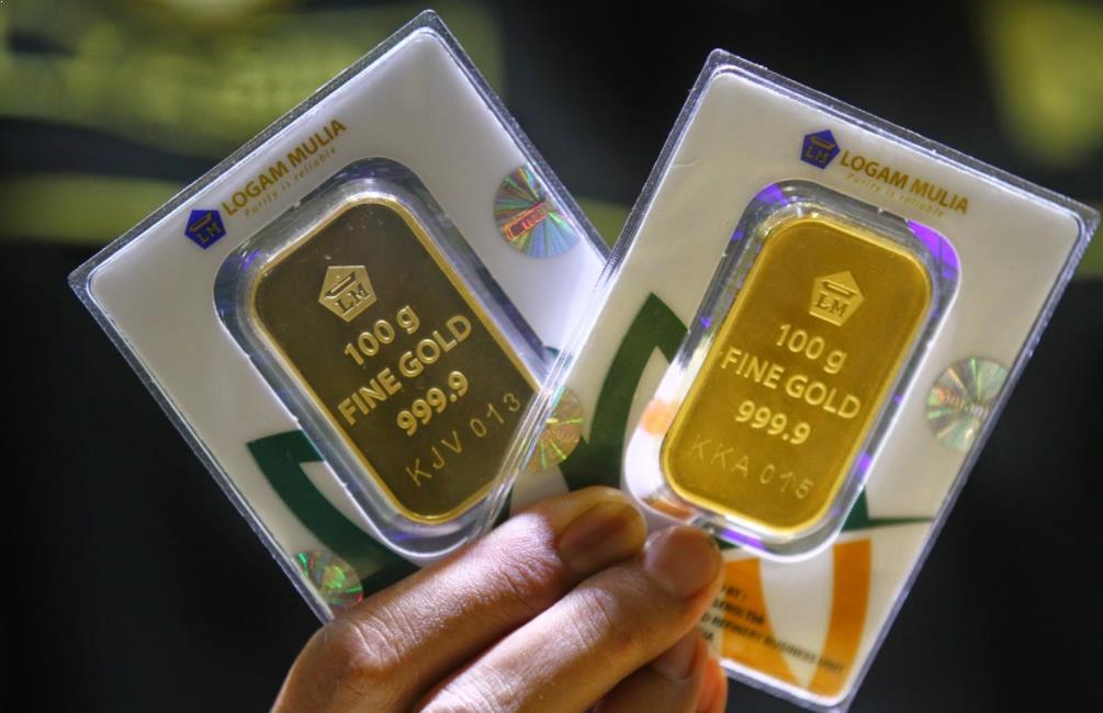 harga emas logam mulia