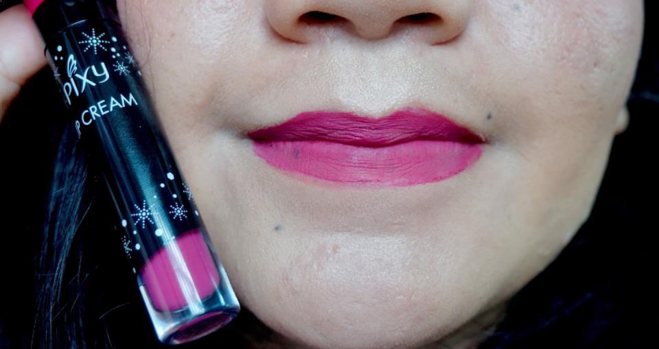 pixy lip cream matte edgy plum