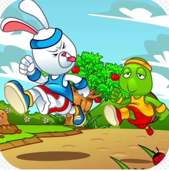 Animasi Kelinci dan Kura kura