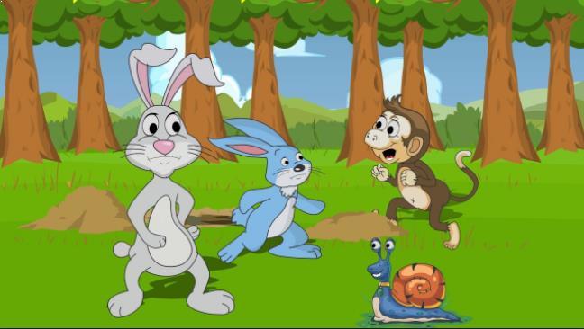Gambar Kelinci Animasi Bergerak Dan Wallpapernya Gratis