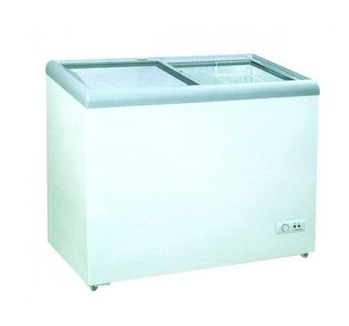 Harga Gea Sliding Flat Glass Freezer SD-256