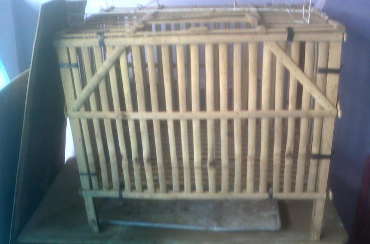 Gambar Kandang Kelinci dari Bambu 3