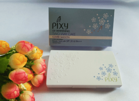 Harga Bedak Pixy Two Way Cake Cover Smooth