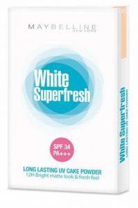 Harga Bedak Maybelline White Superfresh