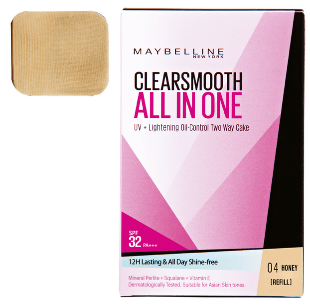 Harga Maybelline Clear Smooth All In One Refil