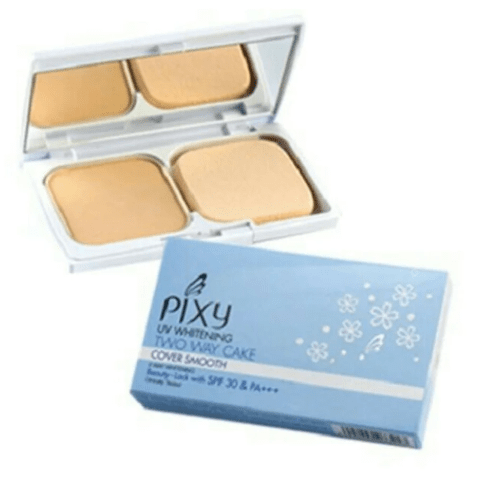 Pixy UV Whitening Two Way Cake Cover Smooth