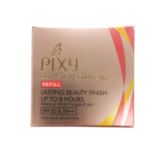 Pixy Ultimate Make Up Cake Refill White Porcelain