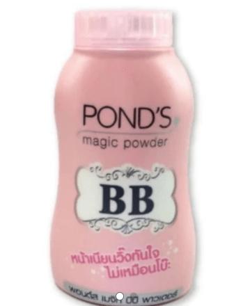 Bedak BB Ponds magic Powder Double Uv Protector kemasan 50 gram