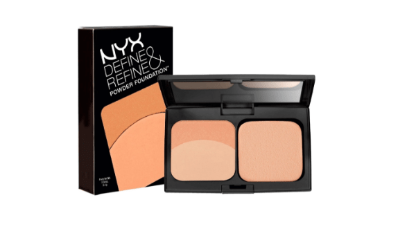Bedak NYX Define & Refine Powder Foundation