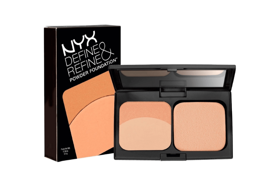 Harga Bedak NYX Define & Refine Powder Foundation