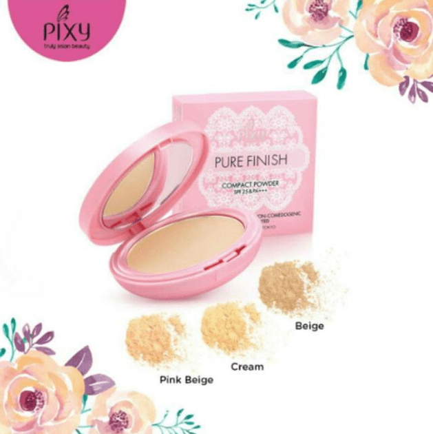 Harga Bedak Pixy Compact Powder Pure Finish