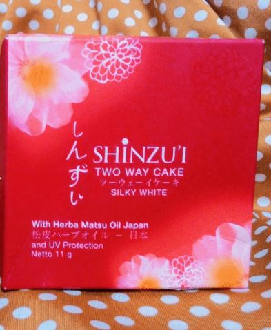 Bedak Shinzui Two Way Cake Silky Natural