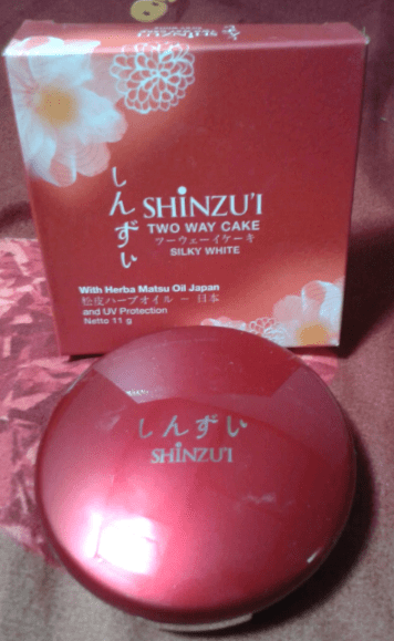 Bedak Shinzui Two Way Cake Silky Pink