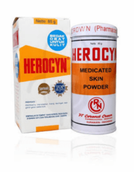 Harga Bedak Herocyn 85g