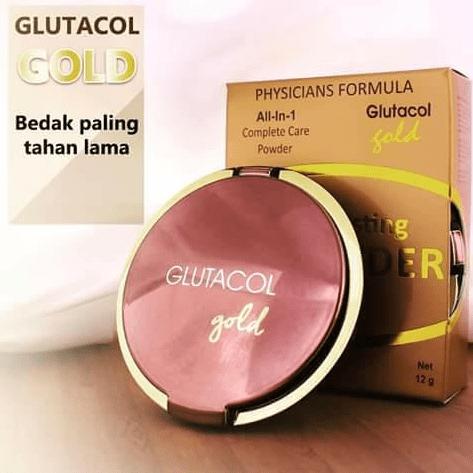 Harga Bedak Glutacol Gold Asli