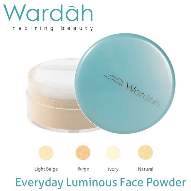 Harga Bedak Wardah Luminous Face Powder
