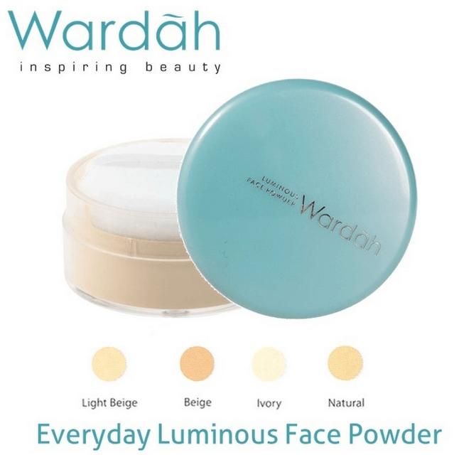 Harga Bedak Wardah Luminous Face Powder