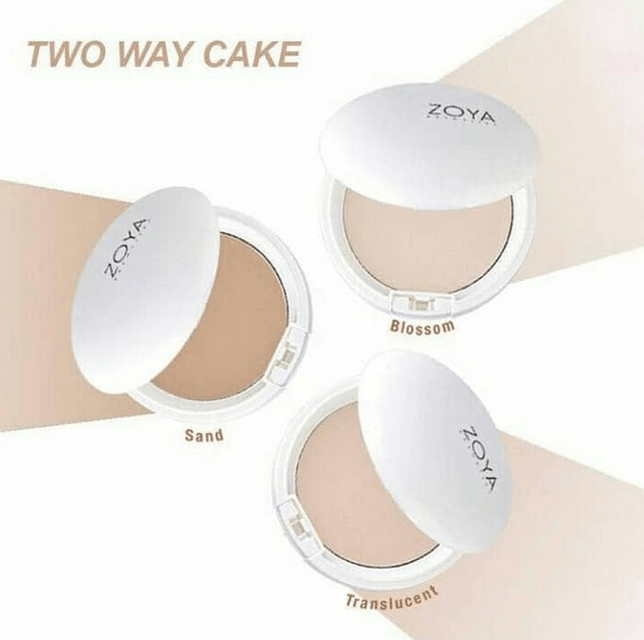Harga Bedak Zoya Natural White Two Way Cake