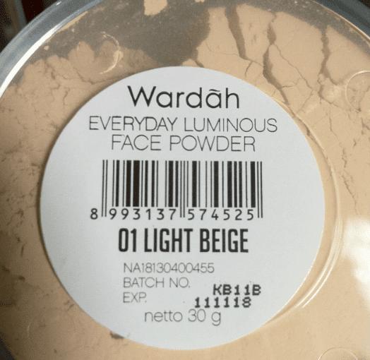 Wardah Everyday Luminous Face Powder 01