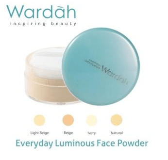 Wardah Luminous Face Powder Light