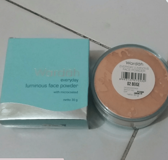 Harga Bedak Wardah Luminous Face Powder 02 Beige
